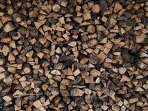 Gehakt hout Stock Fotografie