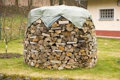 Gevoerd hout Royalty-vrije Stock Afbeelding