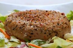 Gehakt lapje vlees Stock Foto