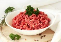 Gehakt vlees Royalty-vrije Stock Afbeeldingen