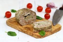 gehaktbrood Royalty-vrije Stock Afbeelding