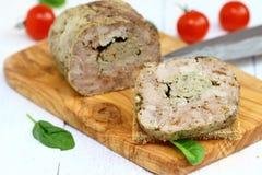 gehaktbrood Stock Foto's