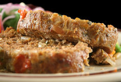 Gehaktbrood en Groenten 5 Royalty-vrije Stock Afbeeldingen