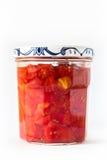 Gehakte tomaten Royalty-vrije Stock Afbeelding