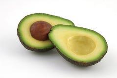 Gehalveerde Avocado Royalty-vrije Stock Afbeeldingen