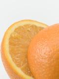 Gehalveerde sinaasappel Royalty-vrije Stock Fotografie