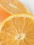 Gehalveerde sinaasappel Royalty-vrije Stock Afbeeldingen