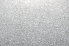 Gehamerd beëindig de achtergrond van de staalplaat stock foto's