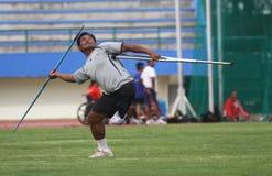 Gehandicapte atleet Stock Foto