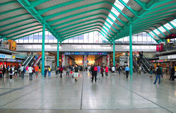 Gehangen hom station, Hongkong royalty-vrije stock fotografie