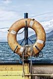 Gehangen Reddingsboei Royalty-vrije Stock Afbeelding