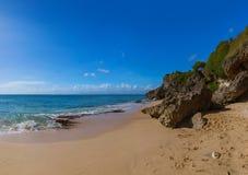 Geheim Strand - Bali Indonesië stock foto's