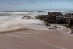 Geheim Strand Hawaï stock afbeelding