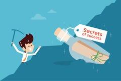 Geheim van succes stock illustratie