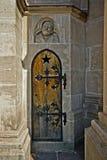 Geheime deur Royalty-vrije Stock Foto