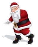 Geheime Kerstman 2 royalty-vrije illustratie