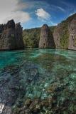 Geheime Lagune bei Balbulol 01 Stockbild