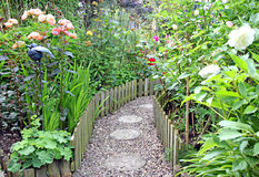 Geheime tuinweg Royalty-vrije Stock Afbeelding
