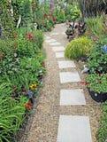Geheime tuinweg royalty-vrije stock afbeeldingen