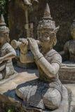 Geheimer Buddha-Garten in Samui - Statue Lizenzfreie Stockfotografie