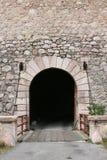 Geheimer Eingang stockbild