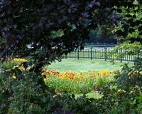 Geheimer Garten Stockfotografie