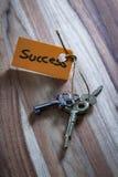 Geheimer Schlüssel für ein erfolgreiches Leben Stockfotos