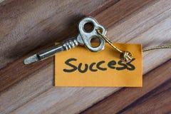 Geheimer Schlüssel für ein erfolgreiches Leben Stockfoto