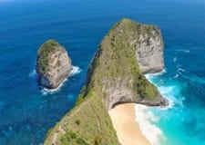Geheimer Strand, Nusa Penida, Indonesien Lizenzfreies Stockfoto