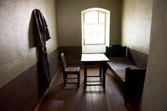 Geheimes haus- ein altes Gefängnis für politische Gefangene im Fort Lizenzfreie Stockfotos
