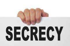 geheimhouding stock afbeeldingen