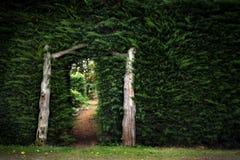 Geheimnis-Garten Lizenzfreie Stockbilder