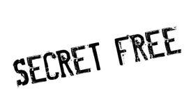 Geheimnis geben Stempel frei Lizenzfreie Stockbilder