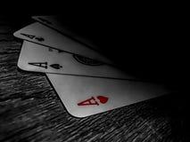 Geheimnis-Karten Stockbild