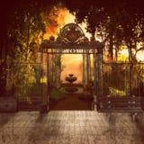 Geheimnis-Park Stockfotografie