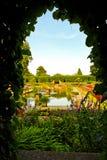 Geheimnisgarten Stockfotos