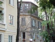 Geheimnisse des alten Hauses Stockbild