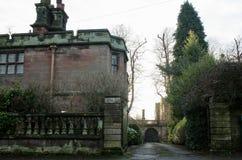Geheimnisse von Caverswall-Dorf, schüren auf Trent Lizenzfreie Stockfotografie