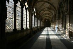 Geheimnisvolle Abtei Stockfotografie