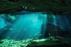 geheimnisvolle Höhle stockbild