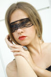 Geheimnisvolle Schönheit Lizenzfreies Stockfoto