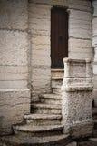 Geheimnisvolle Tür Stockfotografie