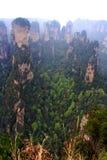 Geheimnisvoller Berg Zhangjiajie. Lizenzfreie Stockfotos