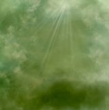 Geheimnisvoller Himmel Lizenzfreies Stockbild