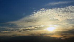 Geheimnisvoller Himmel stock footage