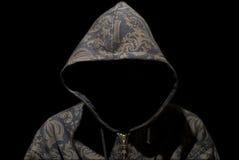 Geheimnisvoller Rapper Stockfotos