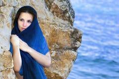 Geheimnisvolles Mädchen Lizenzfreies Stockfoto