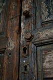 Geheimzinnig deurslot Royalty-vrije Stock Foto