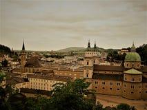 Geheimzinnig Salzburg royalty-vrije stock afbeelding
