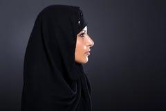 Geheimzinnige Arabische vrouw Royalty-vrije Stock Fotografie